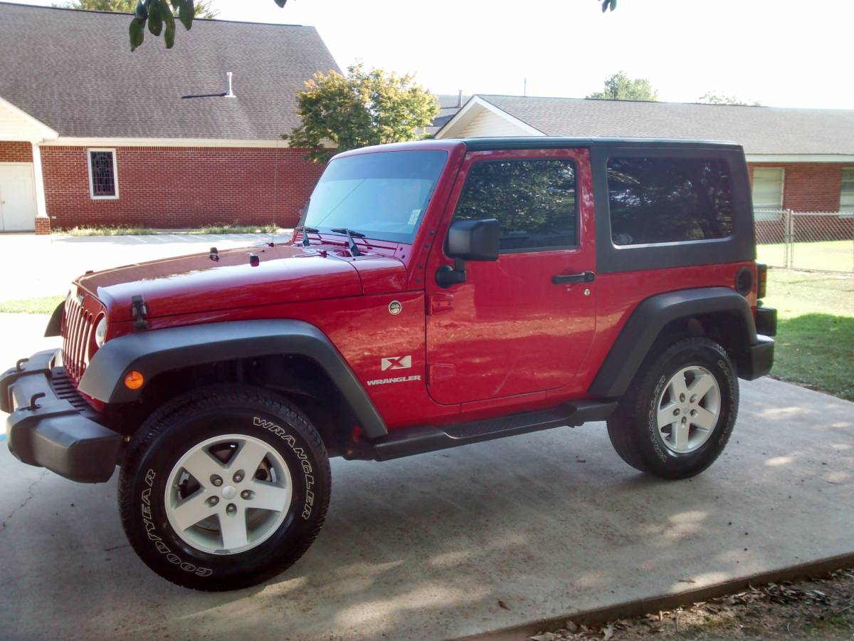 2009 jeep wrangler x for sale in carthage ms. Black Bedroom Furniture Sets. Home Design Ideas
