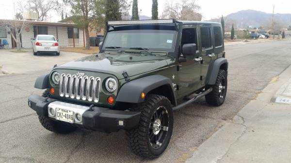 2009 jeep wrangler unlimited x for sale in el paso tx. Black Bedroom Furniture Sets. Home Design Ideas