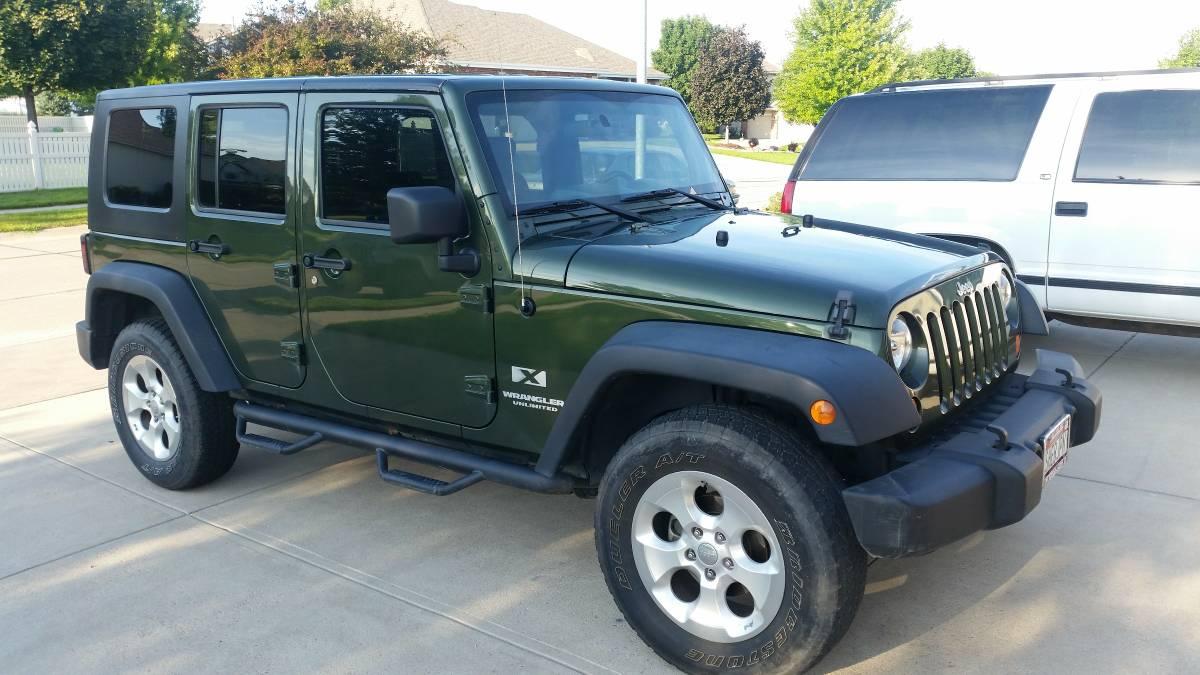 2009 jeep wrangler unlimited x for sale in la vista ne. Black Bedroom Furniture Sets. Home Design Ideas