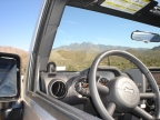View of Four Peaks from Jeep