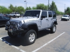 Lifted 2009 Jeep Wrangler Unlimited Rubicon