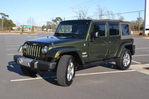 2009 Jeep Wrangler Sahara Unlimited For Sale In Bogue Nc