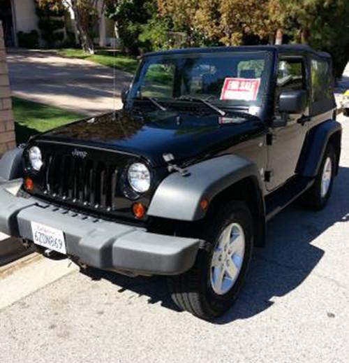 2009 jeep wrangler x for sale in los angeles ca. Black Bedroom Furniture Sets. Home Design Ideas