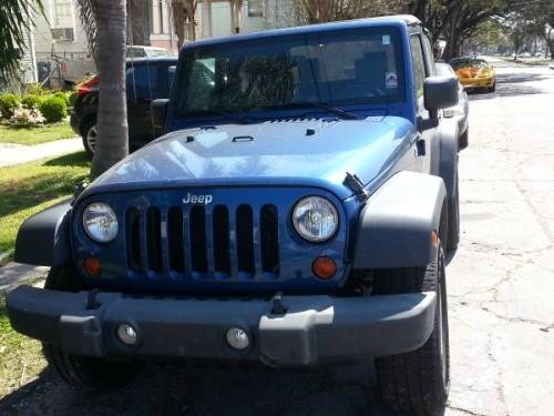 2009 jeep wrangler x for sale in new orleans la. Black Bedroom Furniture Sets. Home Design Ideas