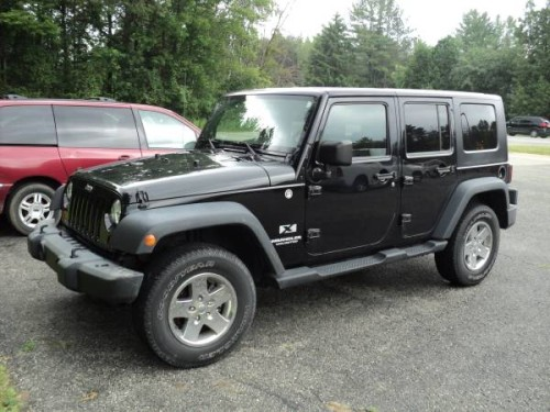 2009 Jeep Wrangler Unlimited For Sale in Tawas City, MI
