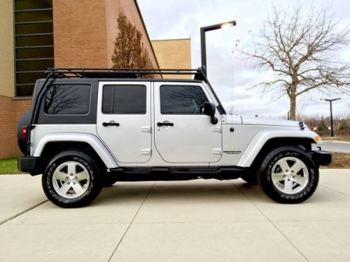 2009 jeep wrangler sahara unlimited for sale in chicago il. Black Bedroom Furniture Sets. Home Design Ideas