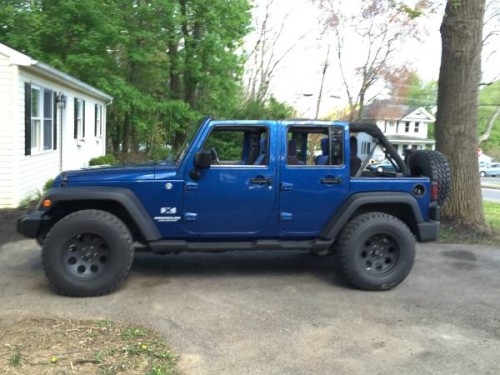 2009 Jeep Wrangler Unlimited For Sale in Lancaster PA