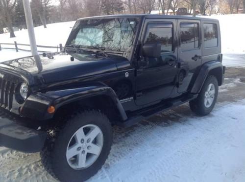 2009 jeep wrangler sahara unlimited for sale in spirit lake ia. Black Bedroom Furniture Sets. Home Design Ideas