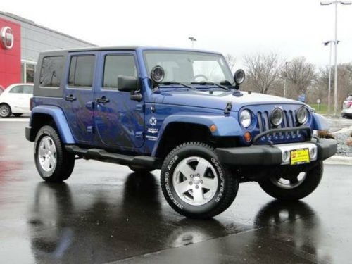 2009 jeep wrangler sahara unlimited for sale in little falls mn. Black Bedroom Furniture Sets. Home Design Ideas
